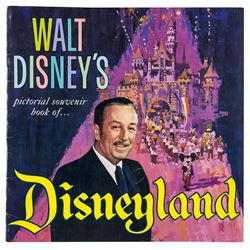 """Walt Disney's Pictorial Souvenir Book of... Disneyland""."