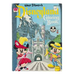 Disneyland Coloring Book.
