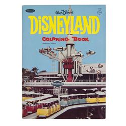 Disneyland Coloring Book & Sticker Book.