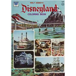 Pair of Disneyland Coloring Books.