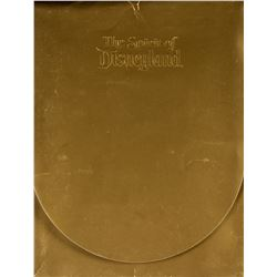 """The Spirit of Disneyland"" 30th Anniversary Book."