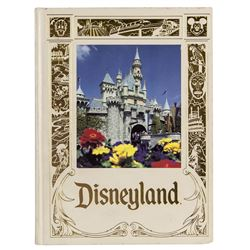 """Disneyland - The First 35 Years"" Hardcover."