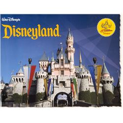 """Walt Disney's Disneyland"" 40th Anniversary Book."