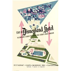 """Disneyland Hotel"" Attraction Poster."