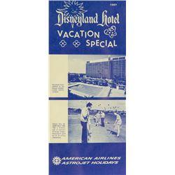 "Disneyland Hotel ""Astrojet"" Flyer."