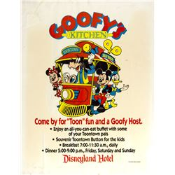 Goofy's Kitchen Sign.