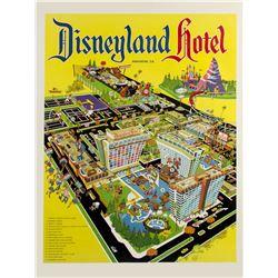 Disneyland Hotel Poster by Bob Bentovoja.