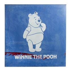 Winnie the Pooh Disneyland Parking Lot Sign.