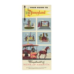 """Your Guide to Disneyland"" Bank of America Guidebook."