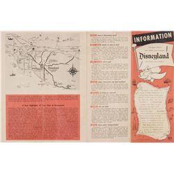 Disneyland Gate Flyer.
