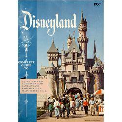 Disneyland 1957 Guidebook.
