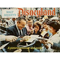 """""""Walt Disney's Disneyland"""" Guidebook."""