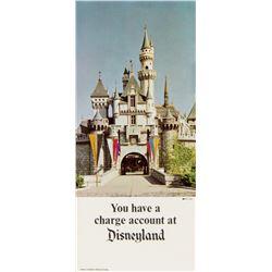 Bank of America Disneyland Charge Account Brochure.