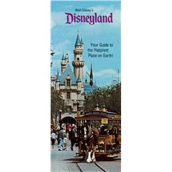Walt Disney's Disneyland  Travel Brochure.