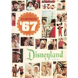 Summer '67  Disneyland Guidebook Supplement.