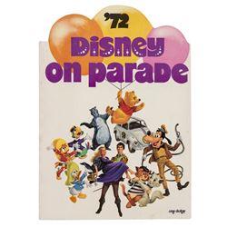 Disney on Parade Souvenir Program.