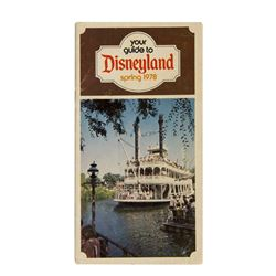 """Your Guide to Disneyland"" Guidebook."