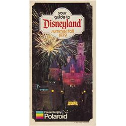 """Your Guide to Disneyland"" Guidebook by Polaroid."