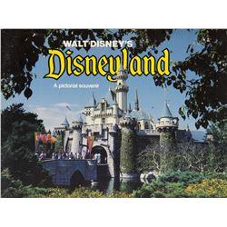 """Disneyland - A Pictorial Souvenir"" Guidebook."