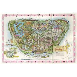 1961 Disneyland Map.