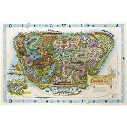 1962 Disneyland Map.