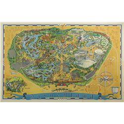 1966 Disneyland Map.