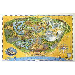 1976 Disneyland Map.