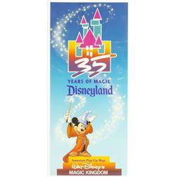 1990 Disneyland Pop-Up Map.