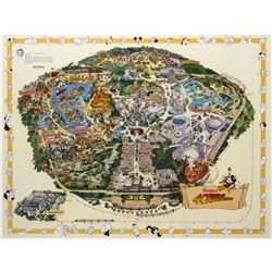 1995-E Disneyland Map with Errors.