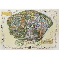 Disneyland Park Map - 1999.