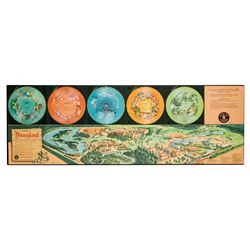 """Disneyland Musical Map"" Record Set."