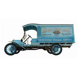 Original Global Van Lines Moving Truck.