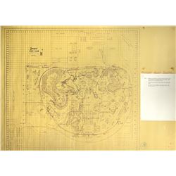 Collection of (4) Disneyland Working Brownlines.