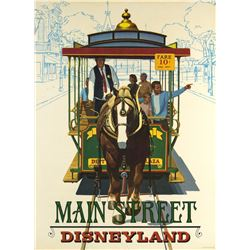 "Main Street ""Near-Attraction"" Poster."
