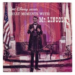 """Great Moments with Mr. Lincoln"" Record."