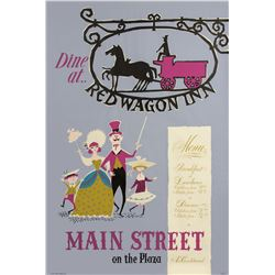 """Red Wagon Inn"" Attraction Poster."