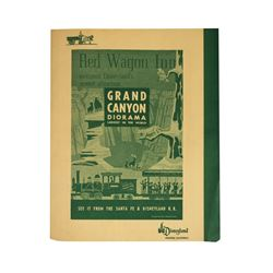 "Red Wagon Inn ""Grand Canyon Diorama"" Dinner Menu."