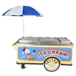 Disney Ice Cream Cart.