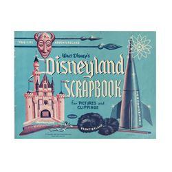 Disneyland Scrapbook.