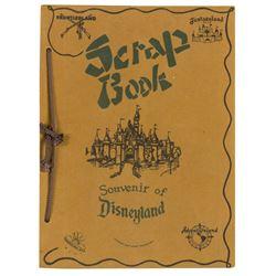 Disneyland Souvenir Scrap Book.