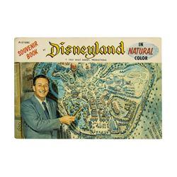 Picture Souvenir Book of Disneyland.