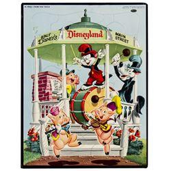 Disneyland Frame Tray Puzzle.