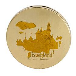 Silver-tone Disneyland Souvenir Compact.