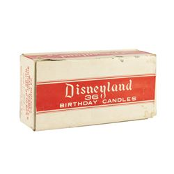 Boxed Set of Disneyland Birthday Candles.
