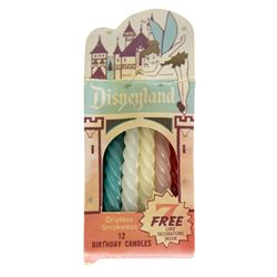 Large Pack of Disneyland Birthday Candles.