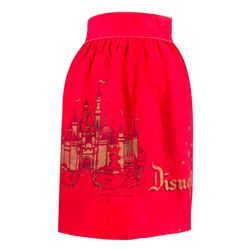 Red Disneyland Child's Apron.