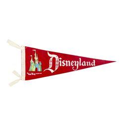 Disneyland Pennant.
