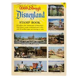 Disneyland Stamp Book.