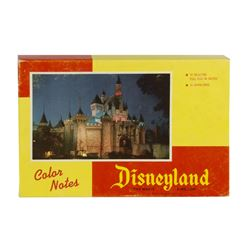 Disneyland Note Paper and Envelopes in Box.