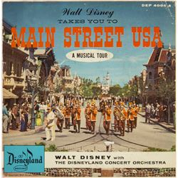 """Walt Disney Takes You to Main Street USA"" Record."